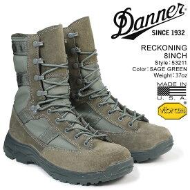 ダナー ブーツ Danner RECKONING 8INCH 53211 メンズ グリーン