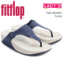 cb0f6166d50ec FitFlop sandals fitting FLOPS Kinney canvas THE SKINNY CANVAS H12 Lady s   4 4 Shinnyu load