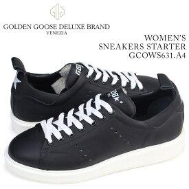 Golden Goose SNEAKERS STARTER ゴールデングース スニーカー レディース スターター イタリア製 GCOWS631 A4 靴 ブラック