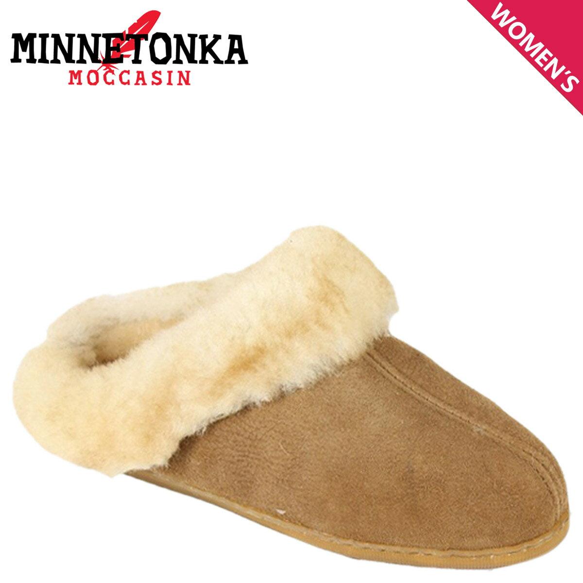 MINNETONKA ミネトンカ シープスキン ミュール SHEEPSKIN MULE レディース