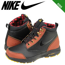 NIKE耐吉運動鞋長筒靴女士DUAL FUSION JACK BOOT GS 535921-001鞋黑色