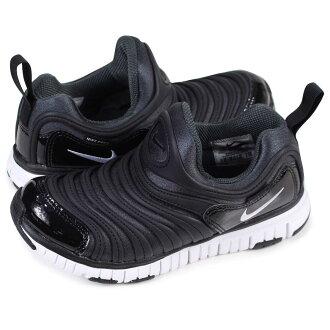 NIKE DYNAMO FREE PS Nike dynamo-free kids sneakers 343,738-013 black [1/26 Shinnyu load]