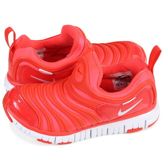 NIKE DYNAMO FREE PS Nike dynamo-free kids sneakers 343,738-624 red [load planned Shinnyu load in reservation product 1/26 containing]