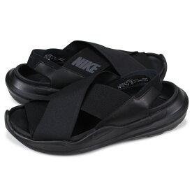 ナイキ NIKE プラクティスク サンダル スポーツサンダル メンズ レディース 厚底 WMNS PRAKTISK ブラック 黒 AO2722-001