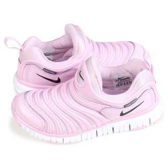 Nike NIKE dynamo-free kids sneakers DYNAMO FREE PS 343,738-628 pink [load planned Shinnyu load in reservation product 11/5 containing]