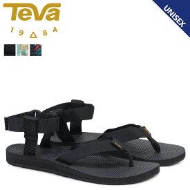 Teva WOMENS ORIGINAL SANDAL テバ サンダル オリジナル レディース メンズ ブラック トープ 黒 1003986
