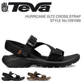 Teva HURRICANE CROSS STRAP テバ サンダル メンズ ハリケーン XLT2 ブラック ダークオリーブ 1091589
