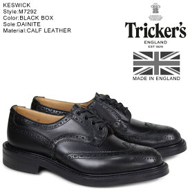 Trickers KESWICK トリッカーズ ウイングチップ シューズ M7292 5ワイズ メンズ
