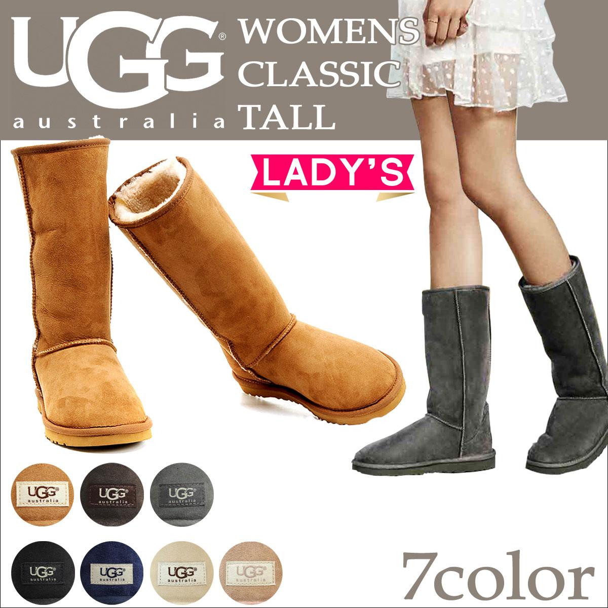 UGG WOMENS CLASSIC TALL II アグ ムートンブーツ クラシック トール 2 レディース 5815 1016224