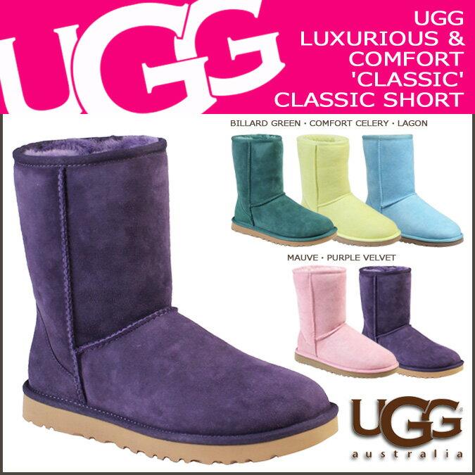 アグ UGG クラシック ショート ムートンブーツ WOMENS CLASSIC SHORT 5825 シープスキン レディース