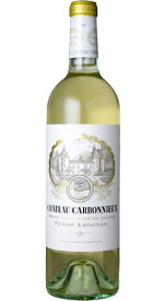■【お取寄せ】 CH.カルボニュー 白[2017] [ ワイン 白ワイン フランスワイン ボルドーワイン ]
