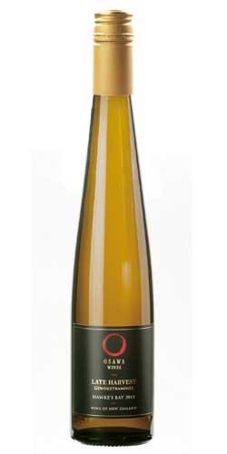 大沢ワインズ レイトハーベスト ゲヴュルツトラミネール[2011]375ml ハーフ Osawa Wines Late Harvest Gewurztraminer[2011] 375ml Half