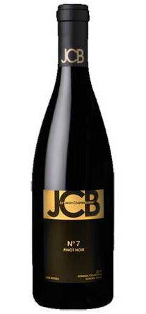 ■ジェーシービー No. 7 ピノ ノワール ソノマ コースト[2013] 750ml JCB N°7 Pinot Noir Sonoma Coast[2013] 【出荷:7〜10日後】