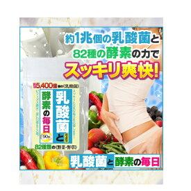 乳酸菌と酵素の毎日 善玉菌 ビフィズス菌 スッキリ爽快 ダイエット 年齢の気になる方に 82種類 野菜 野草 サプリメント