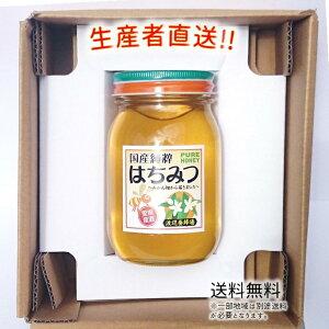 令和2年度産 国産 純粋 はちみつ【送料無料】600g(みかん畑から届きました) 日本製 はちみつ ハチミツ ハニー HONEY 蜂蜜 瓶詰 生産者直送 愛媛県産 国産蜂蜜 国産ハチミツ 送料無料