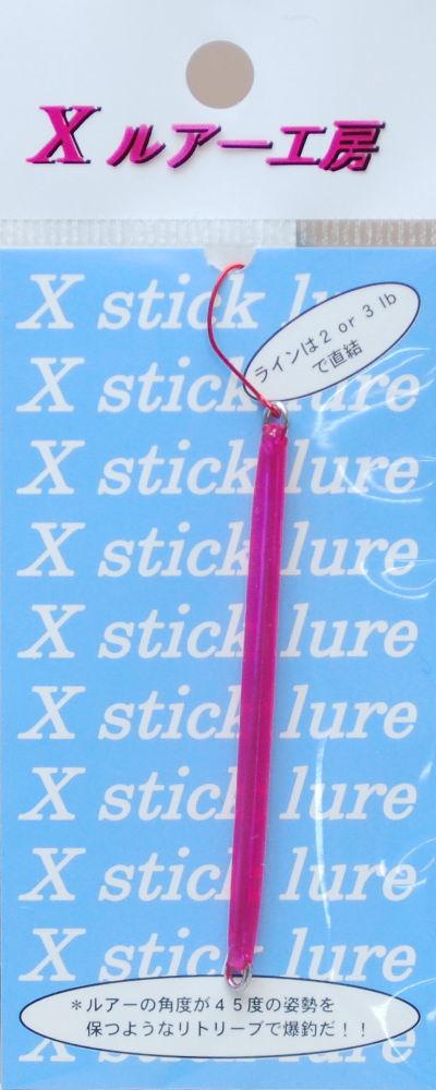 リセントXスティック 1.2g(70mm)18 クリアピンク