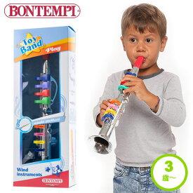 おもちゃ 楽器 3歳 4歳 誕生日 プレゼント 男の子 女の子 クラリネット 42cm 誕生日プレゼント 室内遊び プレゼント 子供 かわいい ラッパ 音楽 室内遊び ギフト おしゃれ かっこいい 音の出るおもちゃ 324331 ボンテンピ