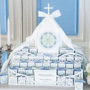 送料無料 プチギフト ウェルカムボード ハートクッキー ホワイトグレース 42個セット 結婚式 ウェディング イベント ウェルカムスペース ウェルカムコーナー かわいい 人気 お礼 お菓子 お