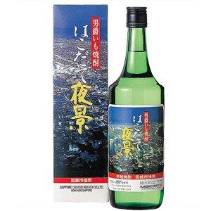 【北海道】サッポロ男爵いも はこだて夜景 25% 720ml【1.8Lまでの商品なら6本まで1個口送料】