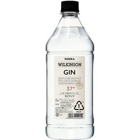 アサヒ ウィルキンソン ジン 37% 1.8L【6本まで一個口送料】