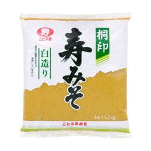 日本清酒 桐印 寿みそ 白造り2kg