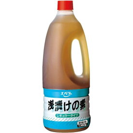 エバラ食品工業 浅漬けの素 レギュラータイプ 1.48L