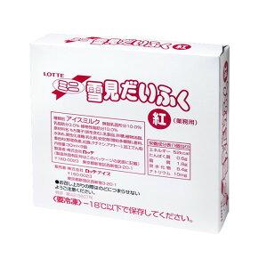 ロッテアイス 業務用ミニ雪見だいふく紅 30ml×9個入り【冷凍】