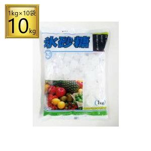 中日本 馬印 クリスタル 氷砂糖 1kgx10袋