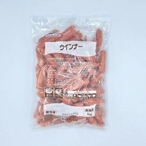 【冷凍】マルハニチロ ウインナー (赤ウインナー) 業務用 1kg