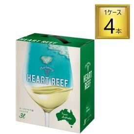 サッポロビール ハートリーフ シャルドネ 白3Lx4本【1ケース】