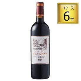 サッポロビールコーディア シャトー・ブレニャン 赤 750mlx6【1ケース】