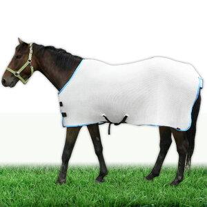 馬用虫除け用メッシュジャケット【農場夏農具】
