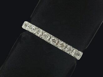 다이아몬드 링- RING -하후에타니티 11 P다이어 PT백금 번뇌에서 벗어나 깨끗함/다이어(0.50 ct) 반지