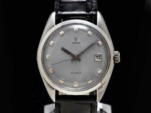 【USED】 チュードル - TUDOR - コバラ(小薔薇) デイト cal.1950 希少ヴィンテージ! SS/革 メンズ 自動巻き 腕時計 【中古】