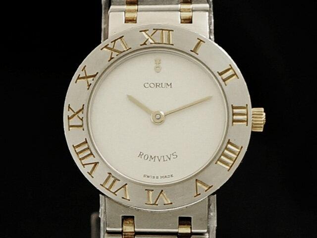 【USED】 コルム - CORUM - ロムルス 18KYG/SS クオーツ レディース 腕時計【中古】