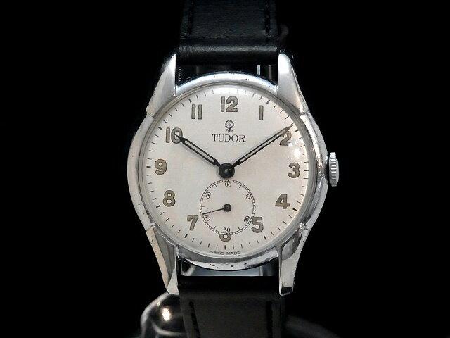 【USED】 チュードル - TUDOR - 小薔薇 (コバラ) 希少 スモセコ! アラビアン 手巻き 白 ホワイト ダイヤル 手巻き 腕時計 【中古】