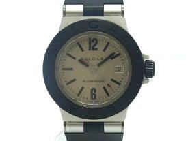 【USED】 ブルガリ - BVLGARI - アルミニウム AL29TA アルミ/ラバー クオーツ レディ—ス 【Luxury Brand Selection】【中古】 腕時計