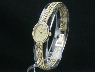 Baume & Mercier – BAUME MERCIER - Tiffany W name antique design 14 KYG ladies