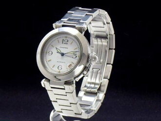 Cartier - CARTIER - Pasha C small date white-board SS case /SS breath automatic roll medium