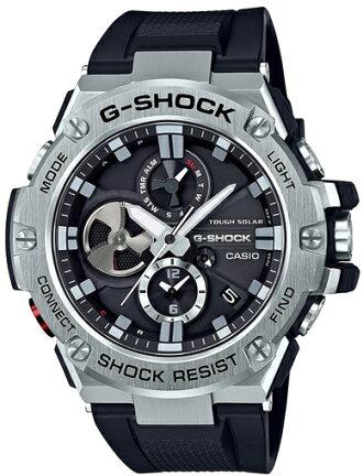 G-SHOCKGショックGST-B100-1AJFアナログ電波ソーラーG-STEELGスチールカシオ