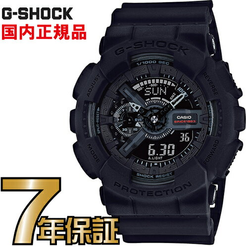 G-SHOCK Gショック CASIO アナログ GA-135A-1AJR BIG BANG BLACK 35周年限定モデル 【送料無料】G-SHOCK カシオ正規品