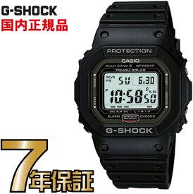 G-SHOCK Gショック 電波 ソーラー GW-5000-1JF 電波時計 タフソーラー カシオ 腕時計 電波腕時計 ジーショック 【国内正規品】【送料無料】 電波 ソーラー Gショック 重厚なメタルケースで、スクリューバックを採用 新品