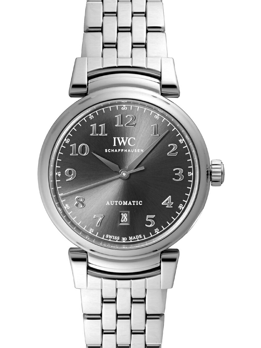 【新品】IWC IW356602 ダ・ヴィンチ・オートマティック SS ブレス スレートカラー(グレー)ダイアル