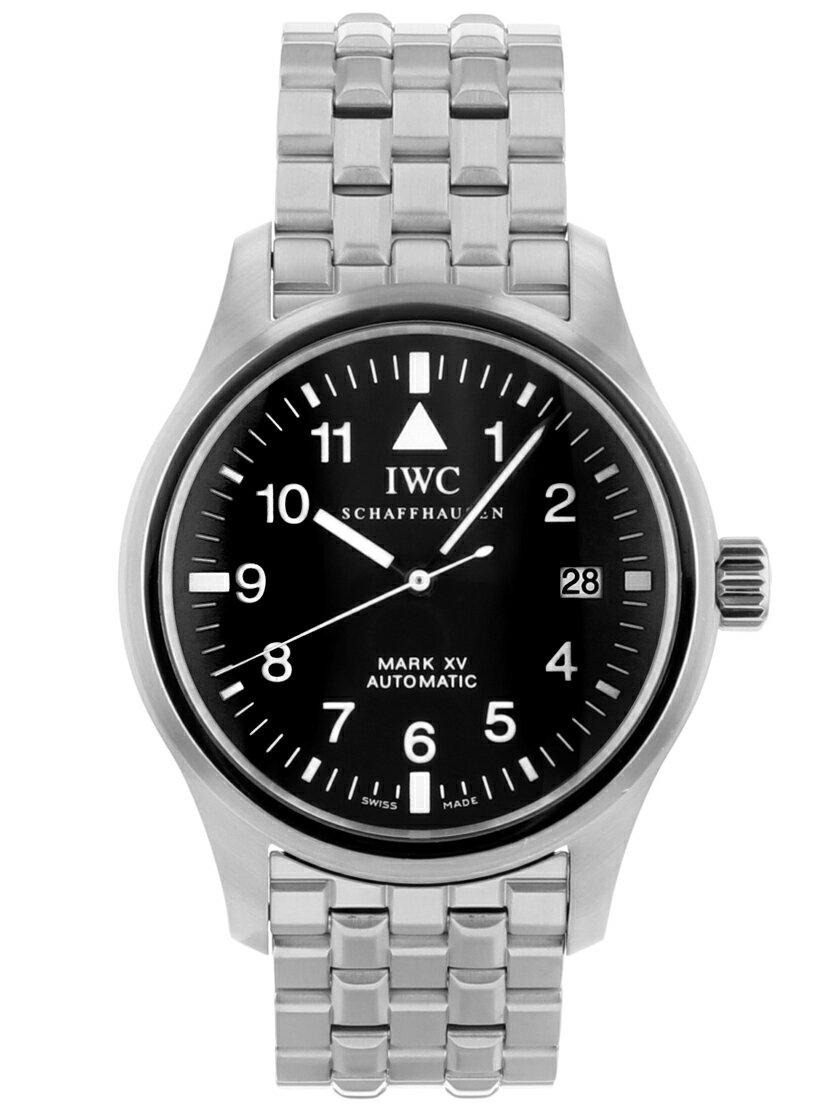 【中古】IWC IW325307 パイロットウォッチ マーク15 ブラック文字盤 SSブレス 自動巻き 《オーバーホール・仕上げ済み!》