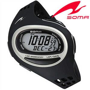 セイコーソーマ腕時計[SeikoSOMA時計](Seiko SOMA 腕時計 セイコー ソーマ 時計) ランワン (RunONE) ユニセックス 男女兼用時計 液晶 DWJ09-0001[トレーニング][ランニングウォッチ][ジョギング][送料無料][トライアスロン プレゼント ギフト]