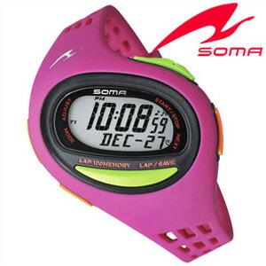 セイコーソーマ腕時計[SeikoSOMA時計](Seiko SOMA 腕時計 セイコー ソーマ 時計) ランワン (RunONE) ユニセックス 男女兼用時計 液晶 DWJ09-0003[トレーニング][ランニングウォッチ][ジョギング][送料無料][トライアスロン プレゼント ギフト]