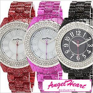 エンジェルハート腕時計[Angel Heart時計](Angel Heart 腕時計 エンジェルハート 時計) ラブスポーツマリン レディース腕時計 ホワイト WL39C[シェル スワロフスキー クリスタル エレメント][入学 就職 祝い プレゼント ギフト][送料無料]