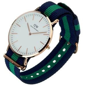 [即出荷][ポイント10倍][送料無料][正規品2年保証]ダニエルウェリントン腕時計DanielWellington腕時計ダニエルウェリントン時計クラシックワーウィックローズCLASSIC40mmメンズ/レディース/男女兼用腕時計/オフホワイト0105DW[ファッション/人気定番]