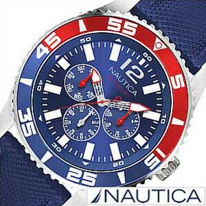 【おひとり様1点限り!】【30%OFF】ノーティカ 時計 NAUTICA 腕時計 ノーティカ 時計 NST07 メンズ ブルー ホワイト A14669G[アナログ おしゃれ][送料無料][プレゼント ギフト]