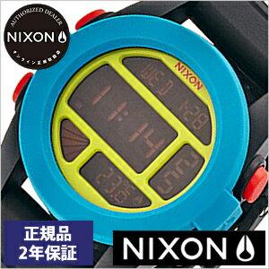 【おひとり様1点限り!】ニクソン腕時計 NIXON時計 nixon(ニクソン) 腕時計[ニクソン時計] ユニット UNIT BLACK BLUE CHARTREUSE メンズ ブラック NA1971935-00[デジタル ブラック][送料無料][プレゼント ギフト][あす楽]